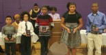 Students from Como Elementary and Montesorri schools were recognized for their academic excellence ant the annual Como Community Awards banquet